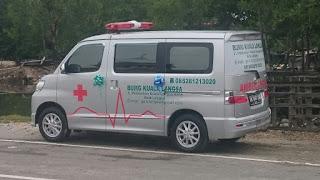 Wow Keren!! Gampong Kuala Langsa Miliki Ambulance Sendiri